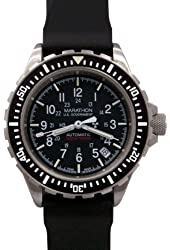 MARATHON WW194006 GSAR Swiss Made Military Issue Diver's Automatic Watch US Government Dial with Tritium Illumination