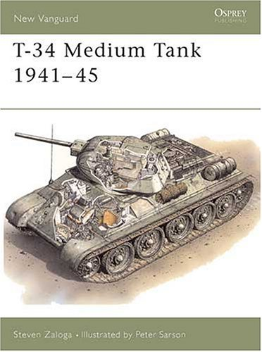 T-34/76 Medium Tank 1941-45 (New Vanguard)