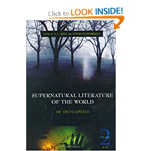 Supernatural Literature of the World: An Encyclopedia, Volume 2, G-O by Stefan R. Dziemianowicz and S. T. Joshi