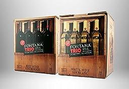 Fontana Trio Wine Kit 16 lt. French Trio - Chardonnay - Muscat - Chenin Blanc