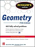 img - for Schaum's Outline of Geometry, 5th Edition: 665 Solved Problems + 25 Videos (Schaum's Outlines) book / textbook / text book