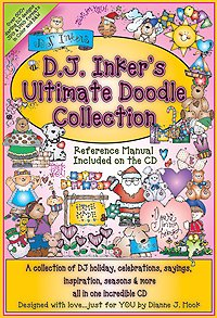 DJ'S Ultimate Doodle Collection Clip Art CD
