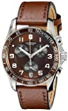 Victorinox Unisex 241498 Chrono Classic Analog Display Swiss Quartz Brown Watch