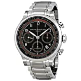 Baume and Mercier Capeland Black Dial Chronograph Mens Watch 10062