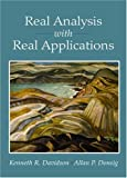 img - for Real Analysis with Real Applications book / textbook / text book