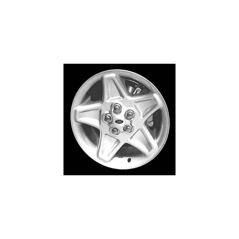 96 02 LAND ROVER RANGE ALLOY WHEEL RIM 18 INCH SUV, Diameter 18, Width 8 (5 STAR SPOKE), SILVER, 1 Piece Only, Remanufactured (1996 96 1997 97 1998 98 1999 99 2000 00 2001 01 2002 02) ALY72146U10