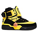 Mens Patrick Ewing 33 Hi Black/yellow Retro Sneakers (11 M US)
