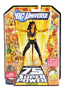 "DC Universe Classic 6"" Collectable Action Figure - CHEETAH - Black Costume Version"