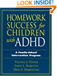 Homework Success for Children with AD...