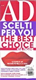 img - for AD The Best Choice (2013 Edition,Sofas,Armchairs,Tables) book / textbook / text book