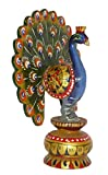 Made with Wooden Material Peacock Medium in size in Decorative art by Bharat Haat BH01955