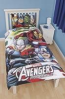 Parure de lit housse de couette réversible Avengers Hulk Iron-man Marvel