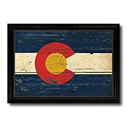 Colorado State Vintage Flag Collection Western Interior Design Souvenir Gift Ideas Wall Art Home Decor Office Decoration - 23\