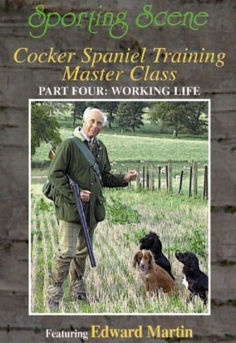 BOXSET: COCKER SPANIEL TRAINING MASTER CLASS PART: 1,2,3  &  4