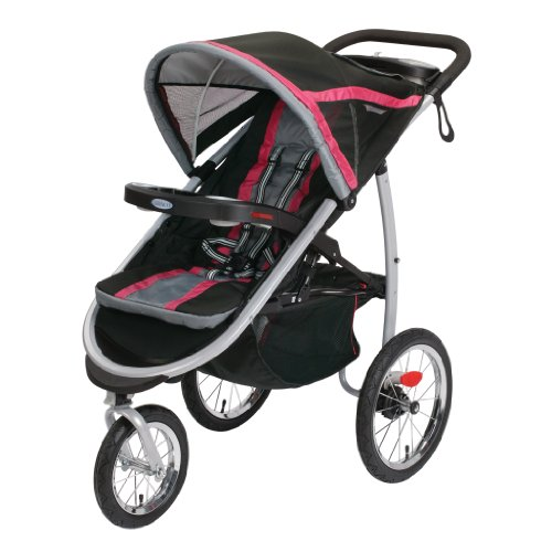 Review Of Graco FastAction Fold Jogger Click Connect Stroller, Azalea