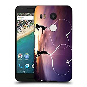 Snoogg Kids Jumping Designer Protective Back Case Cover For LG NEXUS 5X