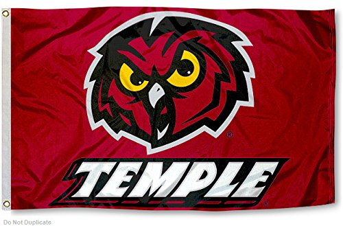 Temple Owls Flag