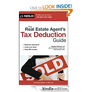 Real Estate Agent's Tax Deduction Guide, The Stephen Fishman J.D.