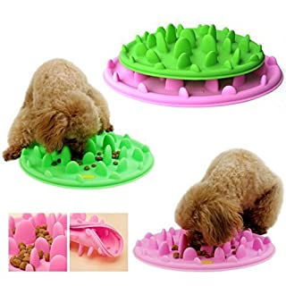 hoopet gamelle anti glouton en silicone pour chien et chat bol cuelle alimentation plats. Black Bedroom Furniture Sets. Home Design Ideas