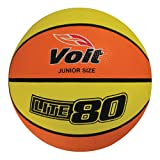 Voit Lite 80 Basketball, Yellow/Orange - 27.5
