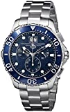 TAG Heuer Mens CAN1011BA0821 Aquaracer Blue Dial Watch