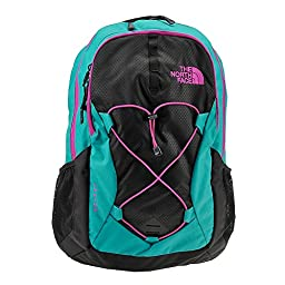 Women\'s The North Face Jester Backpack Kokomo Green/TNF Black Size One Size