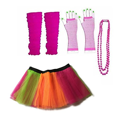 Rush Dance 80s Fancy Costume Set