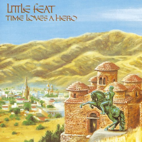 Original album cover of Time Loves A Hero by Little Feat