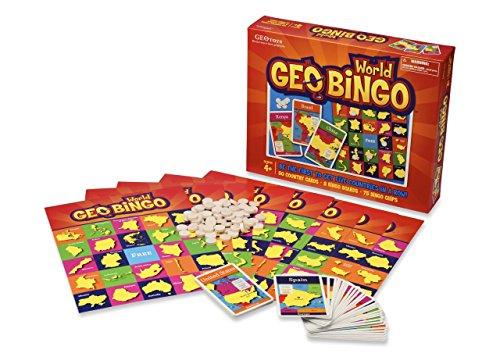 Geobingo World - Educational Geography Board Game