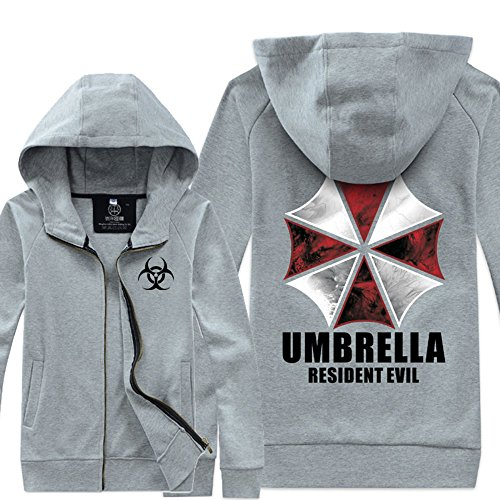Andonger Costume Resident Evil Umbrella Corporation Giacca grigia Style CM