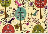 Folk-Art-Birds-Note-Cards-Stationery-Boxed-Notes