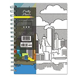 Pretty Places Coloring Journal