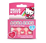 Hello Kitty Aqua Ears Swimming Earplugs - Pair of 3
