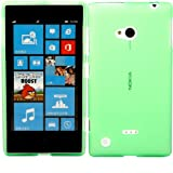 Gel Shell Case Cover For Nokia Lumia 720 / Green