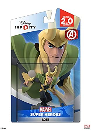 Disney INFINITY Disney Infinity: Marvel Super Heroes (2.0 Edition) Loki Figure