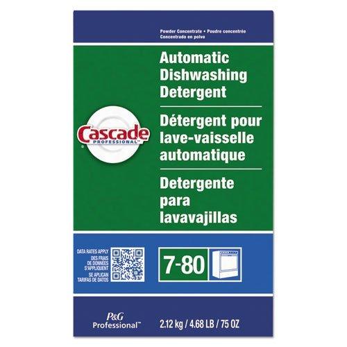 Cascade PGC 59535 Automatic Dishwasher Powder, Fresh Scent, 75 oz. Box (Pack of 7) (Cascade Dishwashing Powder compare prices)