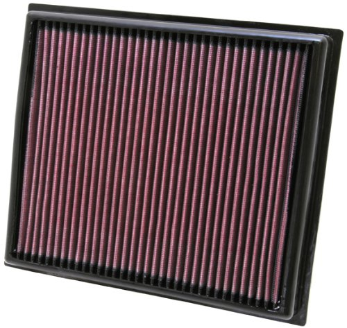 K&N 33-2453 High Performance Replacement Air Filter for '08-'11 Lexus IS F 5.0L