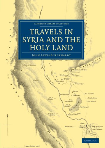 Travels in Syria and the Holy Land (Cambridge Library Collection - Travel and Exploration)