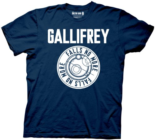 Doctor Who Gallifrey Navy Men's T-shirt richards j  doctor who  apollo 23