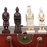 Xian Terracota Warriors Vintage Style Chess Set