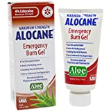 Alocane Maximum Strength Emergency Room Burn Gel, 2.5 Fluid Ounce