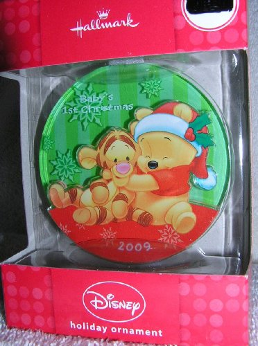 Hallmark Disney Baby'S 1St Tigger & Pooh Ornament front-1058069