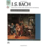 J.S. Bach: Selections from Anna Magdalena's Notebook (Book & CD) (Alfred Masterwork Edition) ~ J. S. Bach