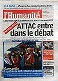 HUMANITE   du 17/01/2007