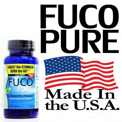3 X Bottles Fuco Pure Weight Loss Fat Burn Dietary Supplement 270 Caps From Usa