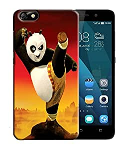 PrintFunny Designer Printed Case For HuaweiHonor4X