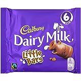 Cadbury Dairy Milk 6 Little Bars (Pack of 8, Total 48 Bars)