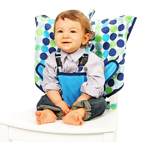 My Little Seat Travel Highchair - Biggy Buttons - 1