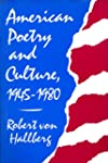 American Poetry and Culture, 1945-80