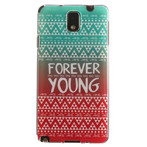 BONROY-PU-Leder-Schutzhlle-fr-Samsung-Galaxy-Note-3-case-Wallet-Schale-Tasche-Magnet-Silikon-Back-Cover-Etui-Skin-Shell-Purse-Handyhlle-Kontrast-farbe-Standfunktion-Kredit-Kartenfcher-Folio-Bookstyle-